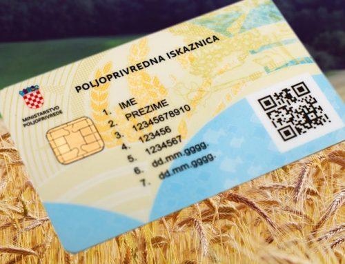 Plavi dizel/nove poljoprivredne kartice